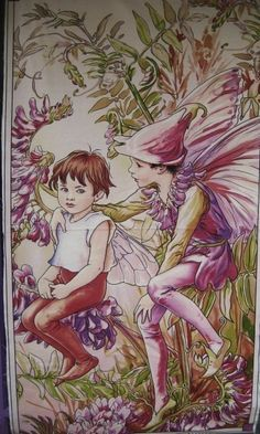 Flower Fairy Cicely Mary Barker Magical by lucyintheskyquilts