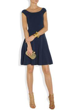 Donna Karan|Ribbed stretch-knit dress|NET-A-PORTER.COM