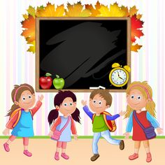 View album on Yandex. Animation Schools, School Border, English For Beginners, Diy And Crafts, Paper Crafts, School Frame, School Labels, Toddler Learning Activities, Borders And Frames
