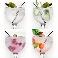 3 fun versions of a classic Gin and Tonic / 3 versiones divertidas de un clásico Gin Tonic
