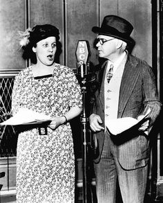 "Fibber McGee and Molly, 1940s  ( Photo courtesy NBC )  Jim and Marian Jordan, from Peoria, Illinois, played Fibber McGee and his long-suffering wife, Molly, in ""Fibber McGee and Molly,"" a radio program, which originated from Chicago, that became the country's most popular show by 1941. McGee was famous for his overstuffed closet, while Molly's sharp rebuff, ""T'ain't funny, McGee,"" usually silenced her mate."