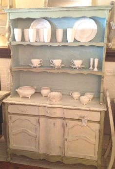China Hutch Server Buffet French Country