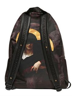 Givenchy print backpack