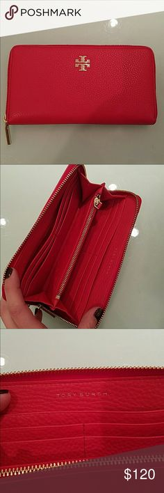 Tory Burch- Red Envelope Wallet Brand New Tory Burch- Red Envelope Wallet Brand New, 100% Authentic, Never Used Tory Burch Bags Wallets
