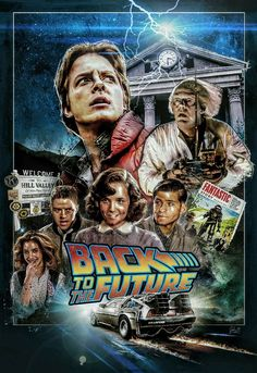 Back to the Future by John Cordero - Home of the Alternative Movie Poster -AMP-