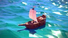 Tiny Pirate Ship by Mpimatt