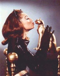 JULIE NEWMAr as the Catwoman