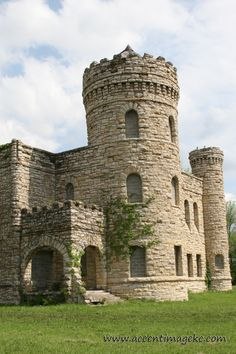 "Water Department Castle in Kansas City, MO, aka  ""The Workhouse"" on Vine Street"