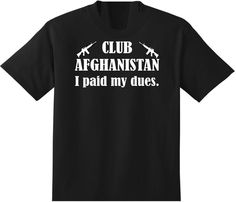CLUB AFGHANISTAN... I paid my dues