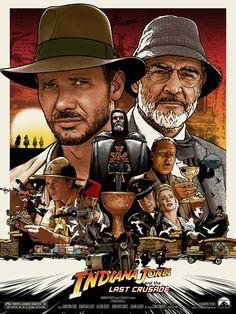 Indiana Jones and The Last Crusade by Joshua Budich.