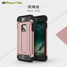 Luxury New PC+TPU Hybrid Armor Case For iPhone 6s Cases 6s 6 Plus For iPhone 7 Case Luxury Full Cover Protection Phone Cases P40