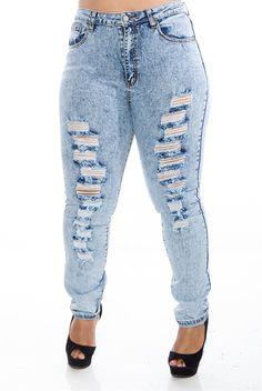plus size mineral wash high waist jeans #plussizefashion #boutique ...