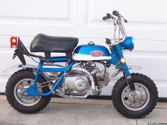 Honda Cycles, Motorcycle Art, Mini Bike, Monkeys, Hot Rods, Trail, Cycling, Motorcycles, Garage
