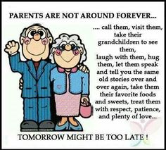 Families don't take for granted