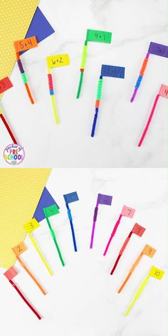 Pipe Cleaner Math Activities