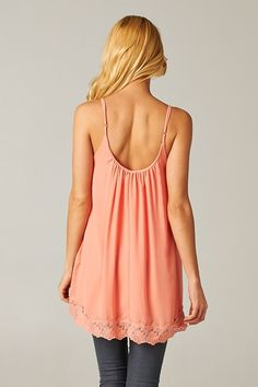Delphine Camisole Top in Soft Nectar