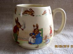 Early Design Bunnykins Baby Cup  Royal Doulton by angelinabella