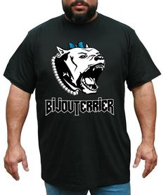 Tričko BijouTerrier - čierne