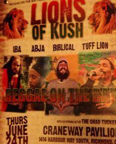 : Iba, Abja, Tuff Lion, Biblical Reggae on the Bay