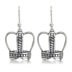 Our edgy and sculptural Crown Earrings  http://silverelementscollection.com/collection/crown-earrings
