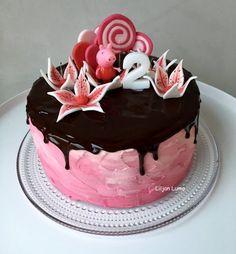 "Liljan Lumo: ""Lilja -possulle"" Pipsa Possu -syntymäpäiväkakku   Peppa pig birthday cake"