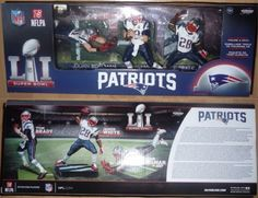 Sports 754: New England Patriots Mcfarlane Nfl Super Bowl Li Champions 3 Pack Brady In Hand -> BUY IT NOW ONLY: $53.9 on eBay!