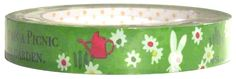 Shinzi Katoh Garden Picnic Medium Deco Tape