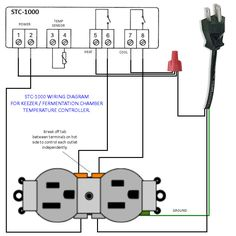 STC-1000 Temp Controller Wiring Diagram