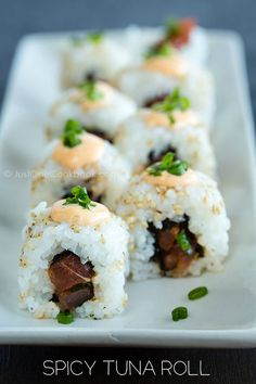 Spicy Tuna Roll | Easy Japanese Recipes at JustOneCookbook.com