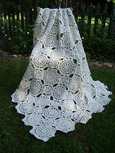 Tucson Throw - free written crochet pattern