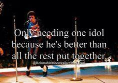 {Michael Jackson} very true