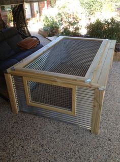 outdoor reptile cage