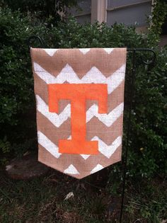 Ready to ship Tennessee Vols garden flag with by ModernRusticGirl, $20.00