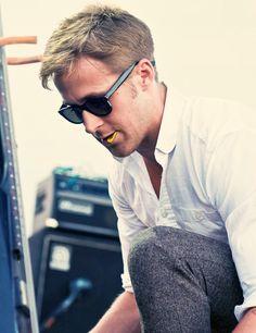 """Ryan Gosling with """"Dead Man's Bones"""""""