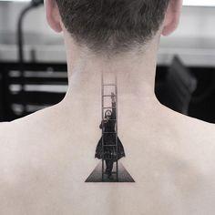 These Amazing Tattoos Are So Effing Artistic - body art Mini Tattoos, Dope Tattoos, Neck Tattoos, Body Art Tattoos, Small Tattoos, Tatoos, Creative Tattoos, Unique Tattoos, Beautiful Tattoos