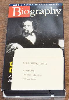A&E Biography: Charles Dickens ~ A Tale of Ambition and Genius (1997, VHS)
