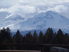 North and Middle Sisters Mountains in the Cascade Mt. Range from the beautiful Dayia Dilliman-Owen.