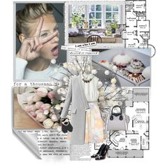 """""""The only real elegance is in the mind; if you've got that, the rest really comes from it."""" by daniela-896 on Polyvore"""