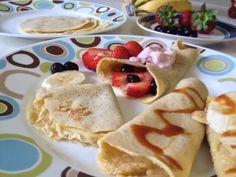 Receta ideal para niños mayores de 1 año La receta de Crepa (crepe, panqueque) de Avena (gluten free) es súper fácil de hacer y muy deliciosa. Podemos acompa...