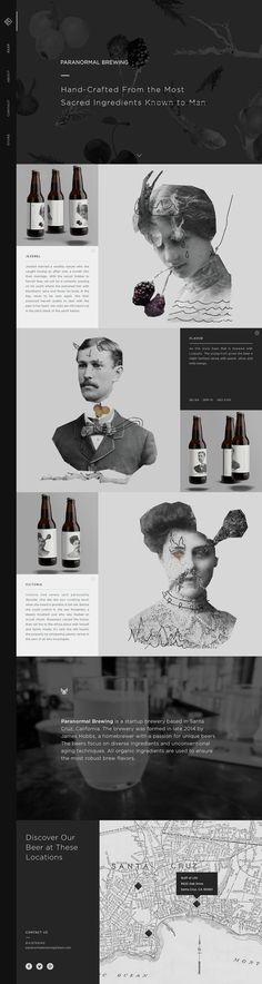 Paranormal Brewing. Made from the most sacred ingredients known to man. (More design inspiration at www.aldenchong.com)