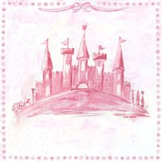 """Oopsy Daisy too Princess Castle Wall Art - 10x10""""  Rating: 4out of 5 stars: 3 reviews    $12.74"""