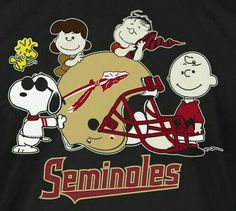 Florida State Football, Peanuts Comics, Snoopy, Fictional Characters, Art, Art Background, Kunst, Performing Arts, Fantasy Characters