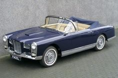 With the agreement of : Hans Ruhe / Amicale Facel Holland - Classic Cars Classic Cars British, Classic Trucks, Fiat 500, Peugeot, Vintage Cars, Antique Cars, Convertible, Vegas, Cabriolet