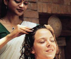 head massaging