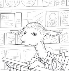 Llama Mad At Mama Coloring Page From Category Select 27007 Printable Crafts Of Cartoons Nature Animals Bible And Many More