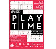 Biennale d'art contemporain, 4e édition PLAY TIME aux Ateliers de Rennes