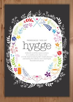 Design by Claire: Hygge - A FREE Printable Poster!