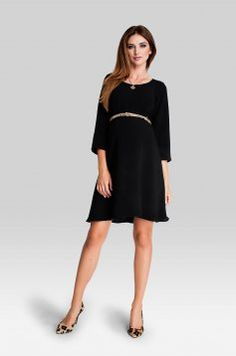 Blacky maternity little black dress Maternity Dresses, Night Out, Cold Shoulder Dress, Feminine, Stylish, Skirts, Pregnant Clothes, How To Wear, Black