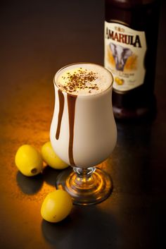Amarula Coffee Dom Pedro: Mix of Amarula, of espresso, of vanilla ice cream and of thick cream into a cocktail shaker or blender. Shake or blend thoroughly and pour into a tall, milkshake glass. Sprinkle some chocolate power on the top and indulge! South African Dishes, South African Recipes, Ethnic Recipes, Party Drinks, Fun Drinks, Beverages, Cocktail Drinks, Pink Cocktails, Cocktail Shaker