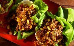 Quinoa pilaf in lettuce cups Recipe by Aarti Sequeira